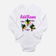 SKATING QUEEN Long Sleeve Infant Bodysuit