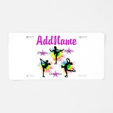 SKATING QUEEN Aluminum License Plate