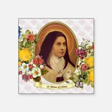 St. Therese Little Flower Sticker