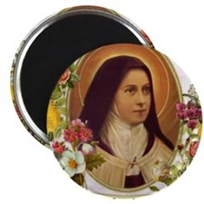 St. Therese Little Flower Magnets