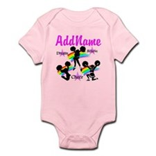 CHEERING GIRL Infant Bodysuit
