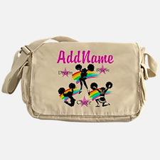 CHEERING GIRL Messenger Bag