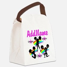 CHEERING GIRL Canvas Lunch Bag