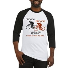Bicycle Queen Baseball Jersey