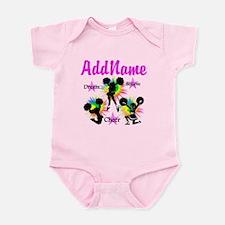 CHEERING GIRL Infant Bodysuit