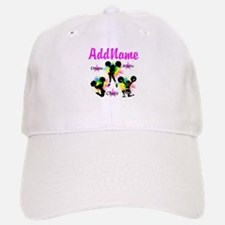 CHEERING GIRL Baseball Baseball Cap