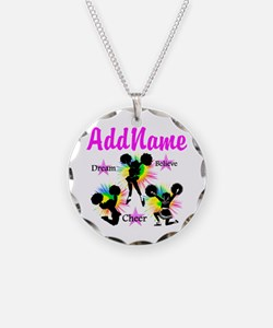 CHEERING GIRL Necklace