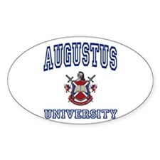 AUGUSTUS University Oval Decal