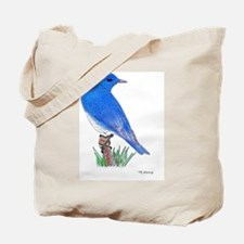 Rocky Mountain Bluebird Tote Bag
