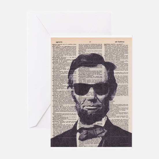 Cool Lincoln Greeting Cards