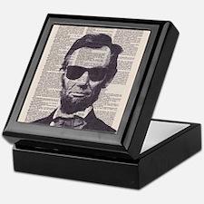 Cool Lincoln Keepsake Box