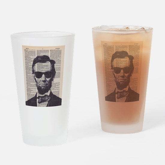 Cool Lincoln Drinking Glass