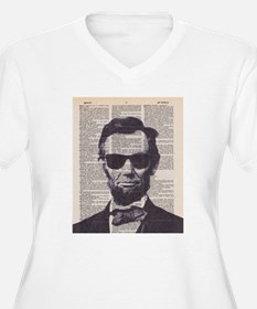 Cool Lincoln Plus Size T-Shirt
