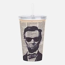 Cool Lincoln Acrylic Double-wall Tumbler
