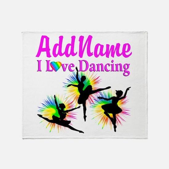 DANCER DREAMS Throw Blanket