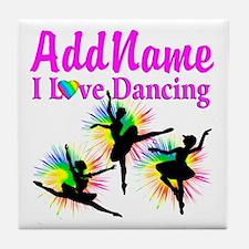 DANCER DREAMS Tile Coaster