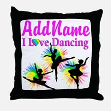 DANCER DREAMS Throw Pillow