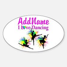 DANCER DREAMS Sticker (Oval)