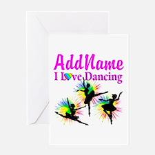 DANCER DREAMS Greeting Card