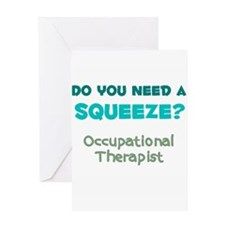 Do You Need a Squeeze? Occupational Therapist Gree