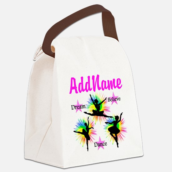 DANCER DREAMS Canvas Lunch Bag