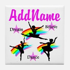 DANCER DREAMS Tile Coaster