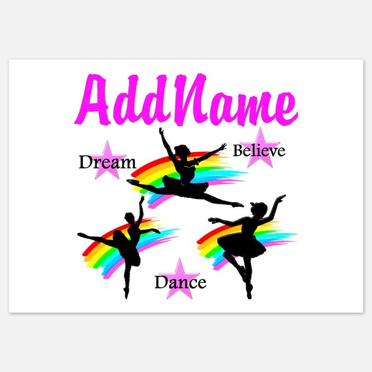 DANCER DREAMS Invitations