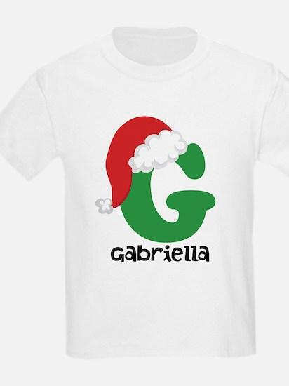 Christmas Santa Hat G Monogram T-Shirt