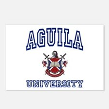 AGUILA University Postcards (Package of 8)