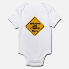 Nuts Infant Bodysuit