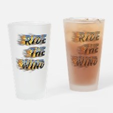 Ride the Wind Drinking Glass