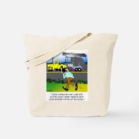 WiFi Cartoon 8407 Tote Bag