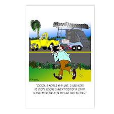 WiFi Cartoon 8407 Postcards (Package of 8)