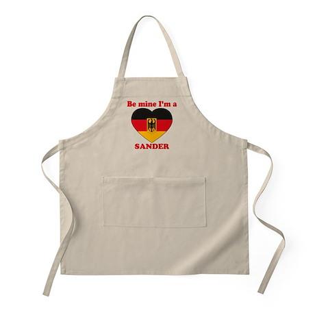 Sander, Valentine's Day BBQ Apron