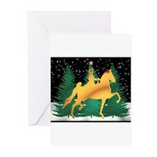 Cute Saddlebred christmas Greeting Cards (Pk of 20)