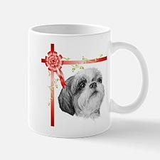 Christmas Present Shih Tzu Mugs