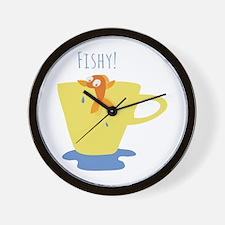 Fishy! Wall Clock
