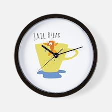 Jail Break Wall Clock