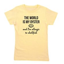 The world is my oyster Girl's Tee