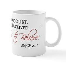 Ed Parker Sr. To Feel is to Belive. Mug