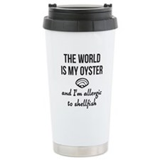 The world is my oyster Travel Mug