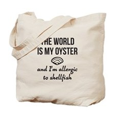 The world is my oyster Tote Bag