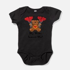 Cute Valentines infant Baby Bodysuit