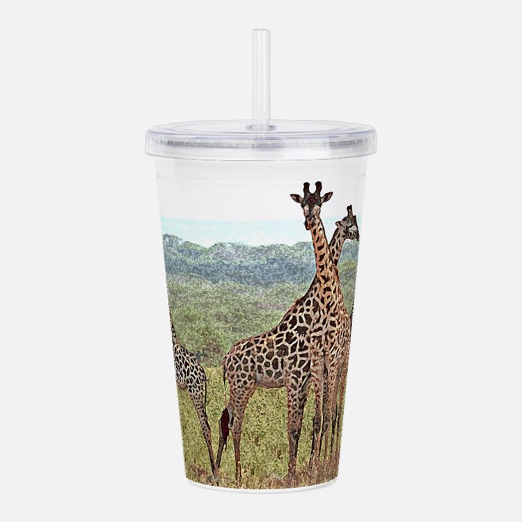 wc-giraffe07.jpg Acrylic Double-wall Tumbler