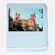 Pena Palace, Sintra, near Lisbon, Por baby blanket
