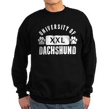 University Of Dachshund Sweatshirt