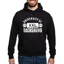 University Of Dachshund Hoodie
