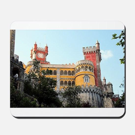 Pena Palace, Sintra, near Lisbon, Portug Mousepad