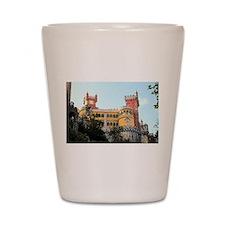 Pena Palace, Sintra, near Lisbon, Portu Shot Glass