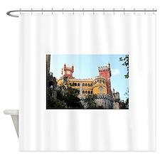 Pena Palace, Sintra, near Lisbon, P Shower Curtain